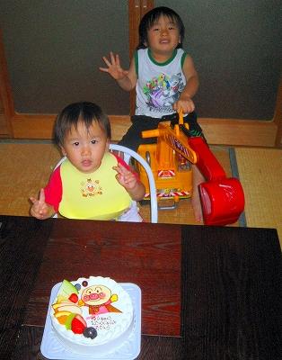祐都 2歳の誕生日