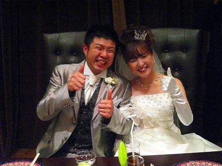 中間君結婚式
